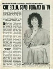 CHE BELLO SONO TORNATA IN TV - DORA MORONI - CLIPPING