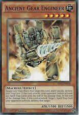 YU-GI-OH CARD: ANCIENT GEAR ENGINEER - SR03-EN008 - 1ST EDITION