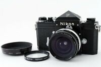 *Near Mint* Nikon F Eye Level Black + NIKKOR-H Auto 28mm F3.5 Lens from JAPAN