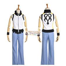 Kingdom Hearts 3D: Dream Drop Distance Riku Uniform COS Clothing Cosplay Costume