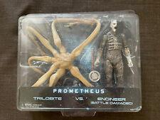 Prometheus Trilobite vs Battle Damaged Engineer Set NECA Toys-R-Us Exclusive TRU