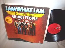 VILLAGE PEOPLE-I AM WHAT I AM-GREAT HITS-TELEFUNKEN-GERMANY NO BARCODE NM/VG+ LP