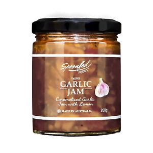 Spoonfed Foods Garlic Jam 200g