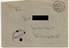 Militaria / Feldpost 12.4.41 / Leibstandarte XX A.H. / Posen 1941