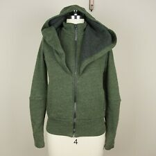 Alo Yoga Chill Jacket Full Zip Green Hoodie Sweater Womens Sz XS