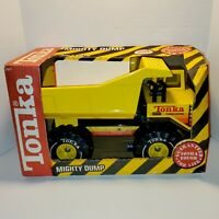 1990 TONKA MIGHTY DUMP Pressed Steel Truck 3901 No 503568 in BOX Vintage NRFB