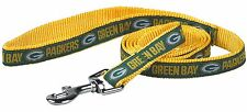 """NFL Green Bay Packers, Premium Pet - Dog Leash, NEW (Large 1"""" x 72"""")"""