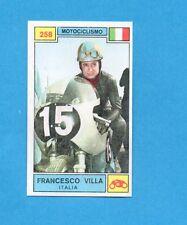 CAMPIONI SPORT 1969-70-PANINI-Figurina n.258- F.VILLA -ITALIA-MOTOCICLISMO-Rec