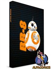 STAR WARS THE FORCE AWAKENS Quaderno Notebook BB-8 BB8 con LUCE! light up