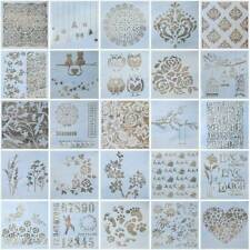 Lots Diy Crafts Layering Stencils Scrapbooking Walls Painting Embossing Template