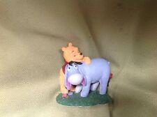 "Disney store simply pooh figurine ""the biggest hugs warm the gloomiest hearts bn"