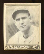 1940 Play Ball TRAVIS JACKSON Baseball Card #158 Vg-Ex No Creases (JO224)