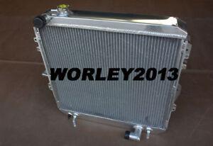 3 core aluminum radiator for TOYOTA HILUX SURF LN130 2.8 diesel