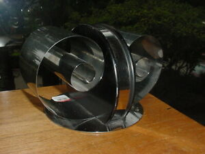 MID CENTURY MODERN DECO CHROME METAL BOOKENDS BOOK HOLDER