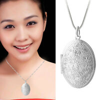 Fashion Womans Crystal Silver Pendant with Snake Chain Pendant Necklace Gifts