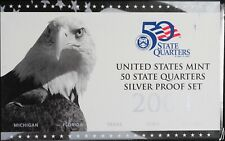 2004 United States Mint 50 State Quarters 5 Coin Silver Proof Set