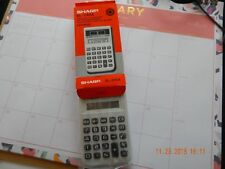 Sharp EL-240A Solar cell Calculator With Box