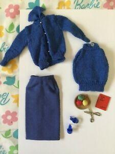Vintage Barbie - #957 - 1963 - Knitting Pretty  Complete EXC