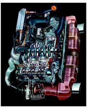 2004 Porsche 911 996 Turbo Cabriolet 3.6 Litre Turbo Engine Photo Poster zuc7895