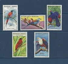 SENEGAL - C26-C30 -  MH  - 1960-1963 - BIRDS