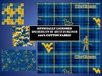 Akron University Cotton Fabric-Akron Zips Cotton Quilting Fabric-AKRON020