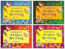 Goodword Arabic Écriture Livre 1 - Lot De 4 Write & Apprendre Musulmane Kids