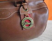 LONGCHAMP Vintage Genuine Leather Brown color (M)