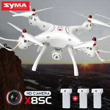 3 Batteries Syma X8SC RC Drone HD Camera Aerial Photography Quadcopter Aircraft