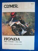 1984 1985 1986 Clymer Honda VF500C Magna VF500F Interceptor NEW Service Manual