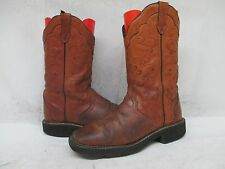 Justin Gypsy Brown Leather  Cowboy Boot Size 8 B Style L2907