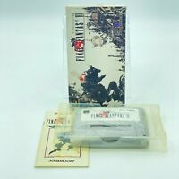 Final Fantasy VI 6 Boxed Nintendo Super Famicom JAPANESE VERSION SFC
