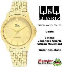 AUSSIE SELLER GENTS DRESS WATCH CITIZEN MADE GOLD Q422-010 P$99 12 MNTH WARRANTY