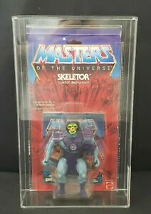 1982 Masters of the Universe Skeletor Figure New Half Boots AFA Graded 80 NM