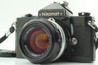 【Exc+5】 Nikon Nikomat FTN Black + Nikkor-S.C Auto 50mm f/1.4 From Japan 1116