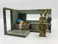 Five Nights at Freddy's SECURITY OFFICE Construction Set McFarlane FNaF