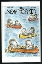 Edward Koren - Copertina per The New Yorker del  - cartolina moderna