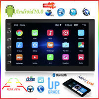 7 inch HD 2 Din Head Unit MP5 Player Android 10.0 Car Stereo GPS AUX USB FM