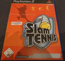 Slam Tennis (Sony PlayStation 2, DVD-Box)