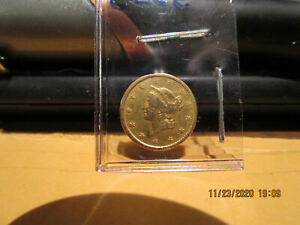 1852 C One Dollar Gold Circulated