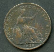 GREAT BRITAIN 1826 farthing COIN YOU DO THE GRADING HAVE FUN BIDDING