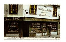 London - The Old Curiosity Shop - Vintage Postcard