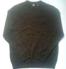 Dickies Long Sleeve Pullover Sweater Brown SZ L