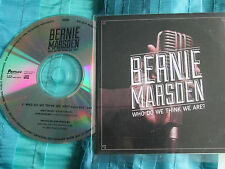 Bernie Marsden – Who Do We Think We Are? Provogue PRD 7418 3-1 Promo CDr Single
