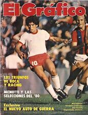 DIEGO MARADONA Argentinos Juniors Vs San Lorenzo Magazine 1980
