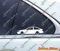 "AE86 sticker AE70 /""LOWROLLA/"" V3 LOW lowered COROLLA KE70 JDM decals"