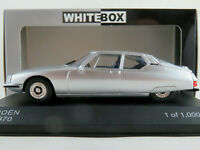 WhiteBox WB297 Citroen SM (1970) in silbermetallic 1:43 NEU/OVP