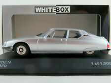 WhiteBox WB297 Citroën SM (1970) in silbermetallic 1:43 NEU/OVP