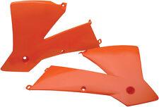 ACERBIS RADIATOR SHROUDS (ORANGE) Fits: KTM 250 SX,450 SX-F,125 SXS,450 SXS,250,