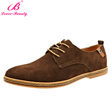 Suede European style leather Shoes Men's oxfords Casual Comfort All Season 2017