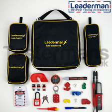Leaderman LARGE Safe Isolation and Lockout Kit LDM-ISOK1 with 4 Protective Cases